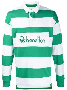 Benetton рубашка-поло с длинными рукавами