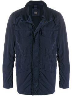 BOSS легкая куртка Olisso-D с высоким воротником
