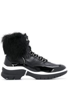 Hogl ботинки со вставкой из овчины