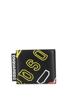 Dsquared2 бумажник с логотипом
