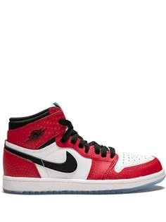Nike Kids высокие кроссовки Air Jordan 1 Retro High OG