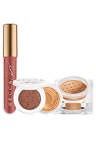 Набор для макияжа x chrissy teigen glow kitchen kit - BECCA