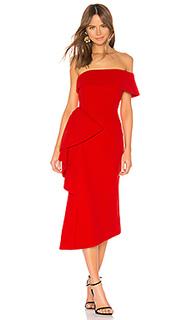 Платье миди hydrangea - ELLIATT