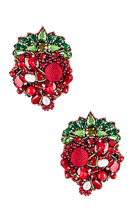 Серьги strawberry - Ranjana Khan