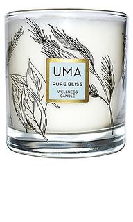 Свеча pure bliss wellness candle - UMA