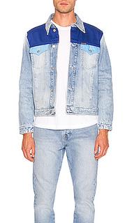 Куртка foundation trucker blocked - Calvin Klein