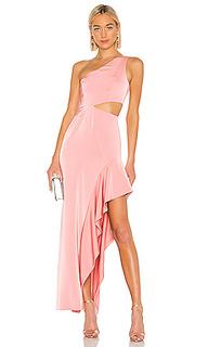Вечернее платье с открытым плечом cressida - NBD