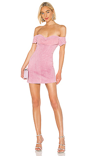 Облегающее мини-платье hadley - retrofete