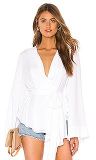 Блузка с длинным рукавом - BCBGMAXAZRIA
