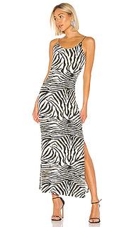 Платье миди zebra - Bardot