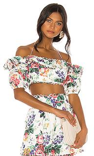 Укороченная блузка allia - Zimmermann