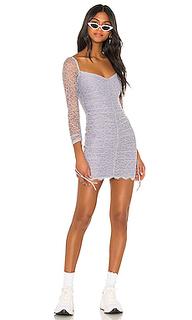 Мини-платье с длинным рукавом francin - h:ours