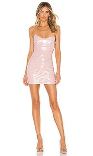 Мини-платье с разрезом zarah - superdown