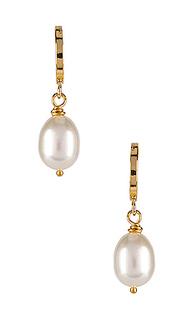 Серьги-кольца milky way - Natalie B Jewelry