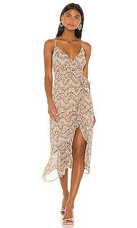 Платье миди ellie - Bardot
