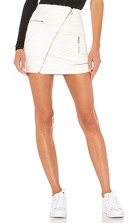 Мото мини юбка tayshia - superdown