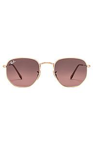 Солнцезащитные очки hexagonal flat - Ray-Ban