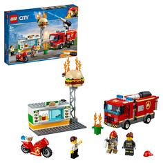 Конструктор LEGO City Fire 60214 Пожар в бугер-кафе