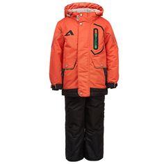 Комплект куртка/полукомбинезон Oldos, цвет: оранжевый