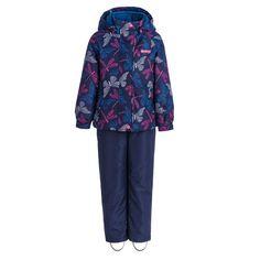 Комплект куртка/брюки Premont Бабочки Вуда, цвет: синий