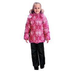 Комплект куртка/брюки Premont Астры в цвету, цвет: розовый