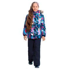 Комплект куртка/брюки Premont Сад под снегом, цвет: синий