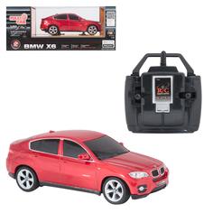 Машина на радиоуправлении Maxi Car Maxi Car на радиоуправлении BMW X6 (красная)