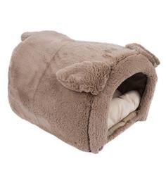 Лежанка-домик для кошек Зоогурман Taddy bear