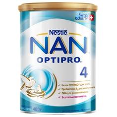 Детское молочко Nan Optipro 4 с 18 месяцев, 400 г