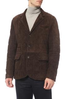 Куртка кожаная Brunello Cucinelli