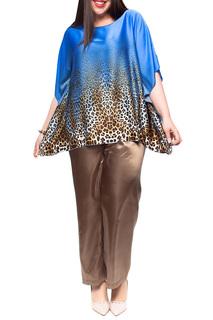 Костюм: блуза, брюки Leshar