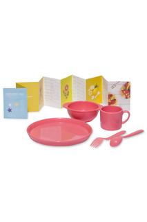 Набор посуды для детей AMILA KIDS, розовый DOSH I HOME