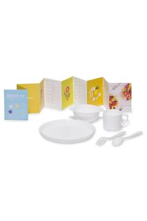Набор посуды для детей AMILA KIDS, белый DOSH I HOME