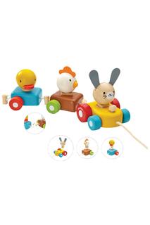 """Сортер """"Поезд с животными"""" Plan Toys"""