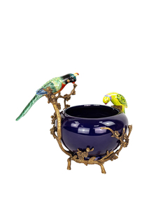 Чаша с птицами ГЛАСАР