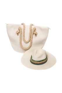 Комплект: шляпа, пляжная сумка Moltini