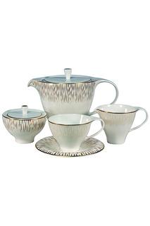 Сервиз чайный 17 пр. 6 персон Royal Porcelain Co