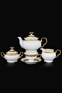 Чайный сервиз 6 персон, 17 пар THUN