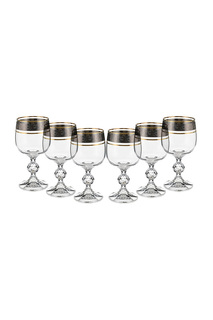 Бокал для вина, 6 шт BOHEMIA CRYSTAL