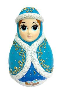 "Неваляшка ""Снегурочка"" Mister Christmas"