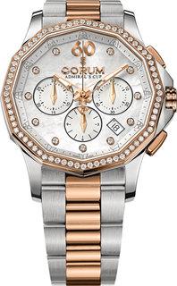 Швейцарские женские часы в коллекции Admirals Cup Женские часы Corum 132.101.29/V200-PN09