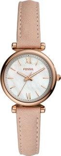Женские часы в коллекции Carlie Mini Женские часы Fossil ES4699