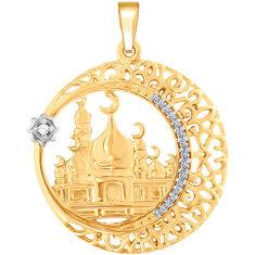 Золотые кулоны, подвески, медальоны Кулоны, подвески, медальоны SOKOLOV 034447_s