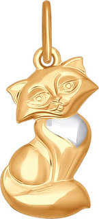 Золотые кулоны, подвески, медальоны Кулоны, подвески, медальоны SOKOLOV 035009_s