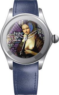 Швейцарские мужские часы в коллекции Bubble Мужские часы Corum 082.310.20/0063-EF01