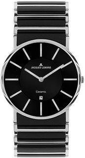 Мужские часы в коллекции High Tech Ceramic Мужские часы Jacques Lemans 1-1648A