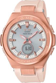 Японские женские часы в коллекции Baby-G Женские часы Casio MSG-S200G-4AER
