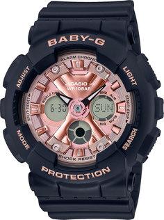 Японские женские часы в коллекции Baby-G Женские часы Casio BA-130-1A4ER