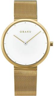 Женские часы в коллекции Mesh Женские часы Obaku V230LXGWMG
