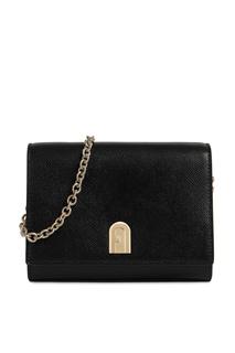Черная сумка 1927 на цепочке Furla